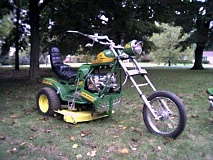 motorcycle mower