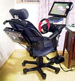 Funny Pictures of Office Chair With Steering Wheel