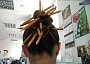 Funny Pictures of Pencils in Secretary's Hair