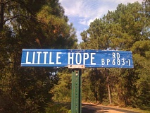 sign little hope