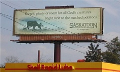 Funny Pictures of Tasty Animal BillBoard