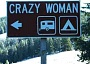 Funny Pictures of Crazy Woman Sign