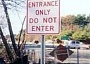Funny Pictures of Entrance Only Do Not Enter Sign