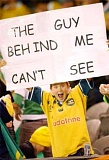 Funny Pictures of Guy Behind Me Sign