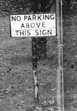 Funny Pictures of No Parking Sign