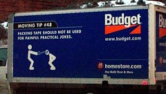Funny Pictures of Budget Moving Tape Tip #48