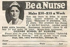 Funny Pictures of Nursing School Ad