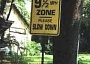 Funny Pictures of 9.5 Speed Limit Sign