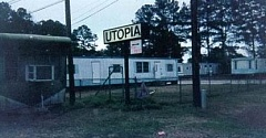 Funny Pictures of Utopia Humanism Sign
