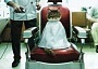 Funny Cat Pictures -  in Barber Chair