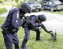 Funny Cat Pictures -  and SWAT Team