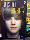 Justin Bieber Biography Book Cover